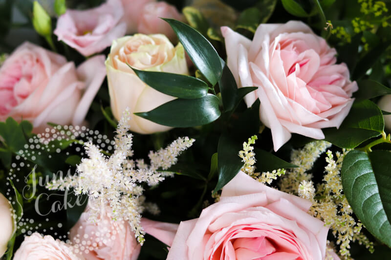 Beautiful flowers by The Wedding and Flower Boutique in Lincolnshire