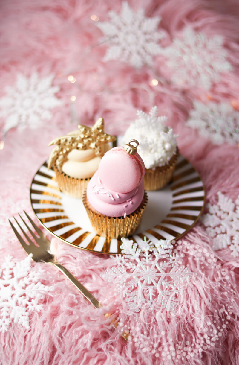 Christmas cupcakes from Juniper Cakery