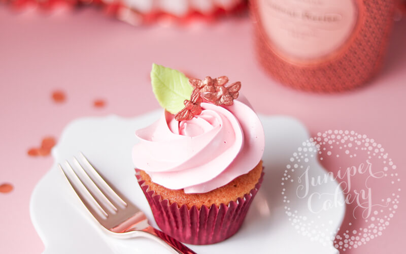 Rose Mother's Day cupcakes by Juniper Cakery