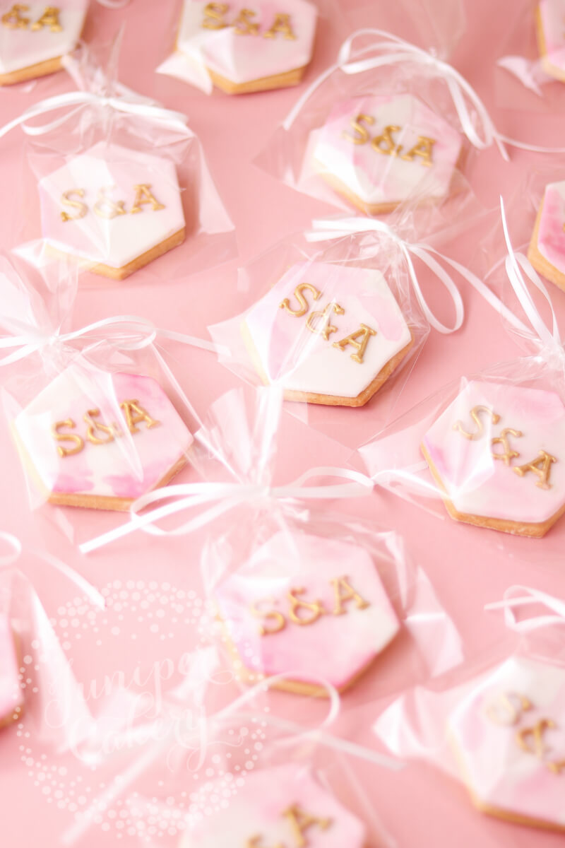 Wedding favours by Juniper Cakery