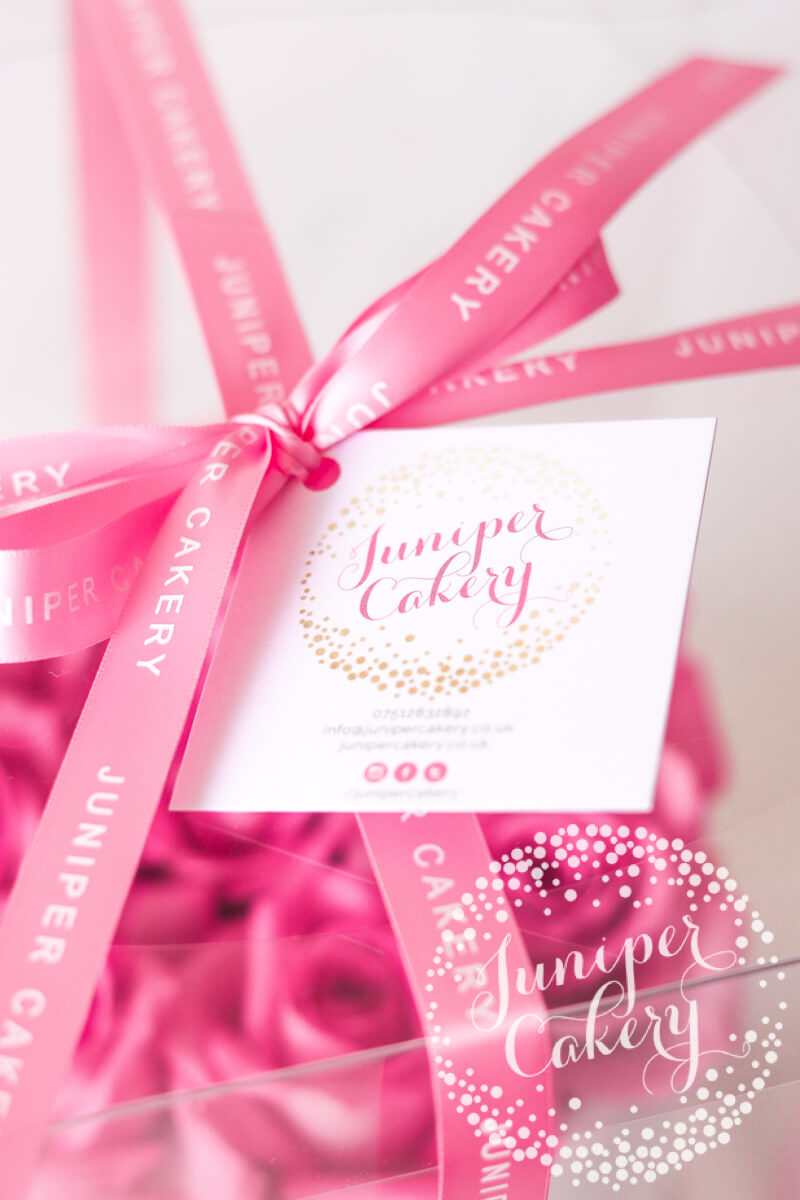 Juniper Cakery gift packaging