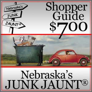 PRE-ORDER the Nebraska's JUNK JAUNT® Shopper Guide