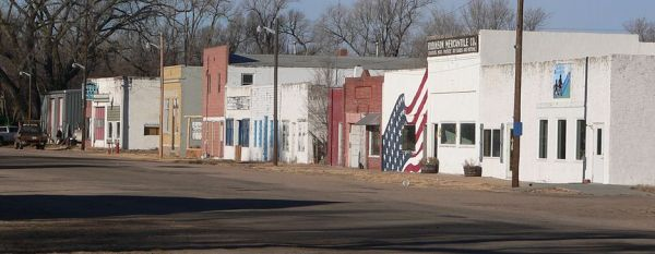 Downtown Dunning, Nebraska