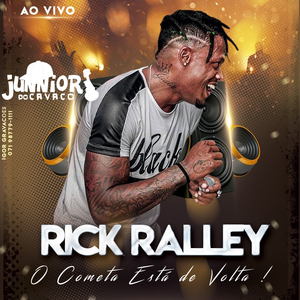 RICK RALLEY – CD AO VIVO NO VILLA KAL 2018