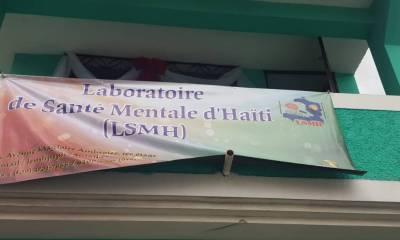 Un premier laboratoire de santé mentale inauguré en Haïti 48