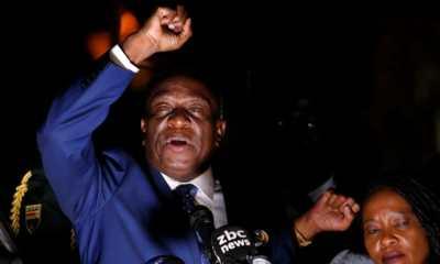 Zimbabwe : Emmerson Mnangagwa prend le pouvoir et appelle au calme 32