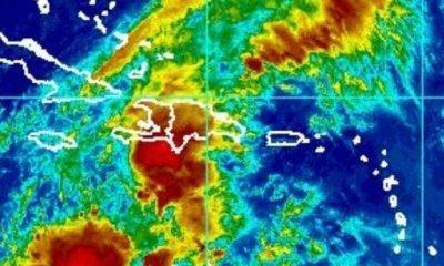 Météo : Un centre de basse pression se déplace vers haïti 35