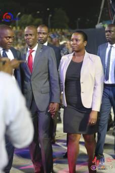 In Haïti : les membres du gouvernement se joignent à la chaîne 31