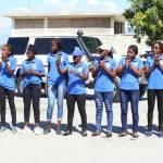 Jovenel Moïse accueille chaleureusement les Grenadières 53