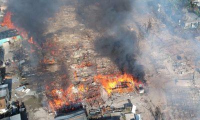 Bahamas : Des maisons d'Haïtiens détruites par un violent incendie à Abaco 42