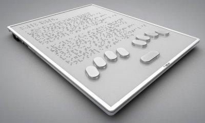 Technologie : Une tablette pour les personnes malvoyantes et aveugles 35