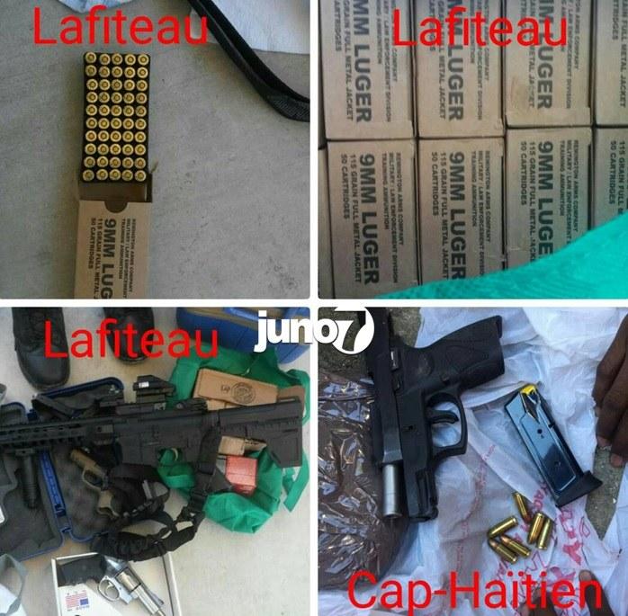 Haïti : Importante saisie d'armes aux ports du Cap-Haïtien et Lafiteau 30