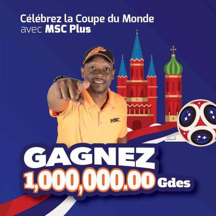 Célébrez la coupe du monde avec MSC Plus 28
