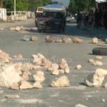 FLASH : La tension monte à Lilavois, des protestataires bloquent la route principale 30