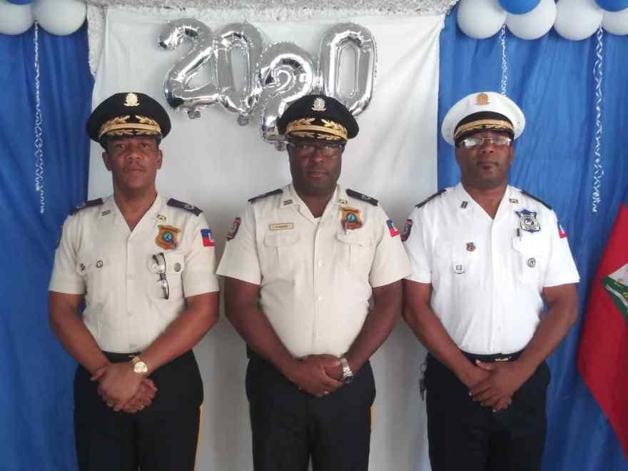 Graduation de la 13e cohorte de policiers des Garde-Côtes haïtiennes