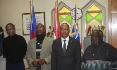 Le Consul général d'Haïti à Montréal, Dr Fritz Dorvilier prend ses marques