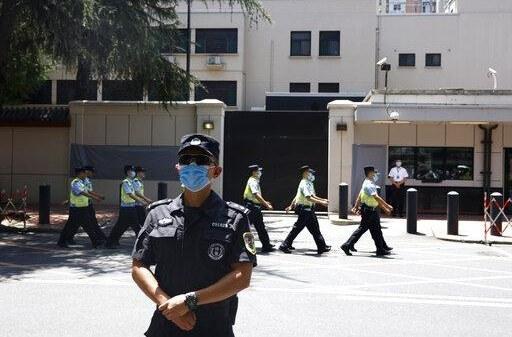 La Chine a pris possession du consulat américain à Shengdu