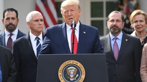 Coronavirus USA , Donald Trump