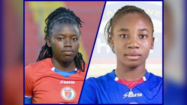 Nerilia Mondesir et Melchie Dumornay, parmi les meilleurs talents qui ont joué en U20