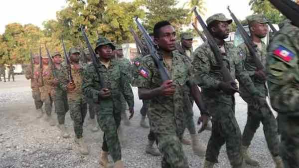 Des militaires haïtiens vont être déployés à Fonds-Parisien