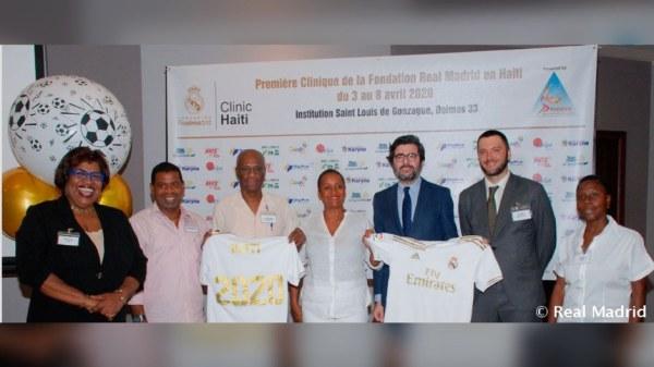 Haïti accueillera en décembre, pour la première fois, un programme du Real Madrid