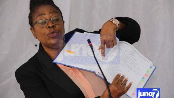 La ministre Giselhaine Monpremier passe en revue les fausses informations véhiculées sur le code pénal