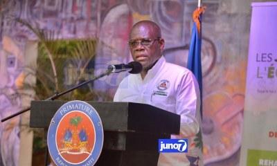Pour Joseph Jouthe Haïti n'arrive pas à suivre ses engagements en matière de droits humains