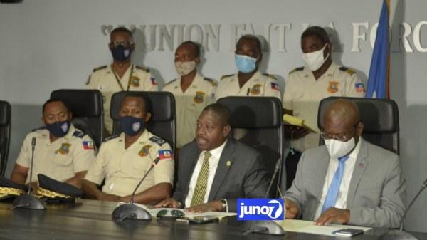 Signature d'un contrat entre l'Etat haïtien et l'hôpital Bernard Mevs pour soigner les policiers