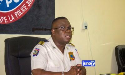 Enspektè Garry Desrosiers drese bilan operasyon lapolis mennen 2 janvye pase a nan Kanaran