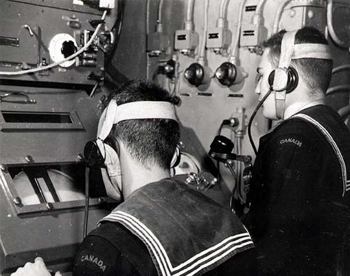 ASDIC operators.