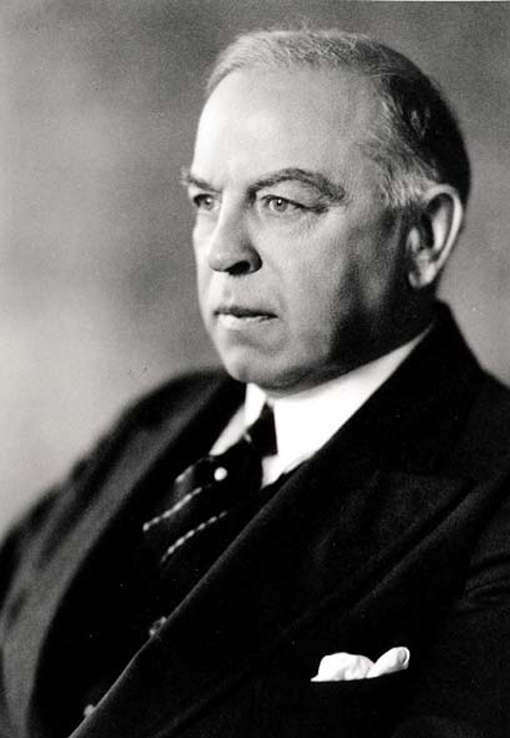 Right Honorable William Lyon Mackenzie King, 1941.
