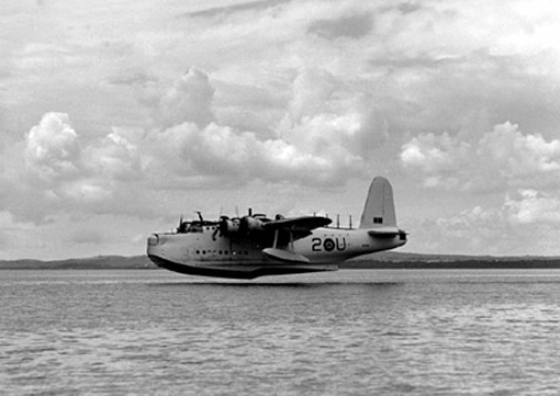 "Short Sunderland ""U"" of 422 Squadron, similar to the one that attacked U-672."