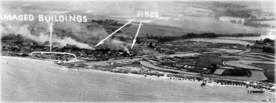Courseulles-sur-Mer. D-Day 1944.