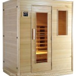 China furniture product photography Home use waterproof far infrared suana room machine sauna