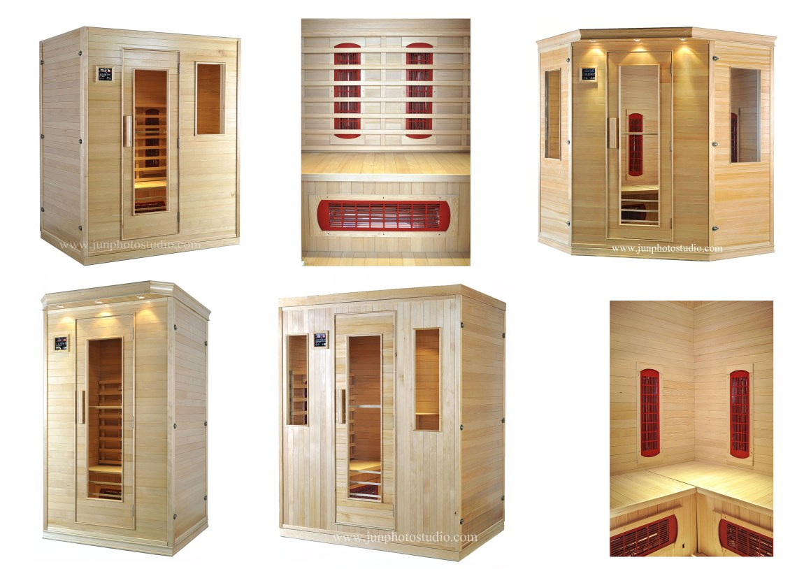 Shenzhen product photographer home use sauna series
