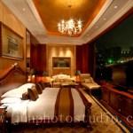 Shenzhen architecture photographer Kempinski hotel president suite night view