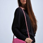fashion photographer guangzhou model and pink bag