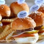The hamburgers food photography Guangzhou