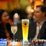 Beer with champagne advertising food photography China