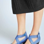 Australia fashion footwear blue sandal