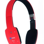 e commerce red color wireless headphone product photography Shenzhen