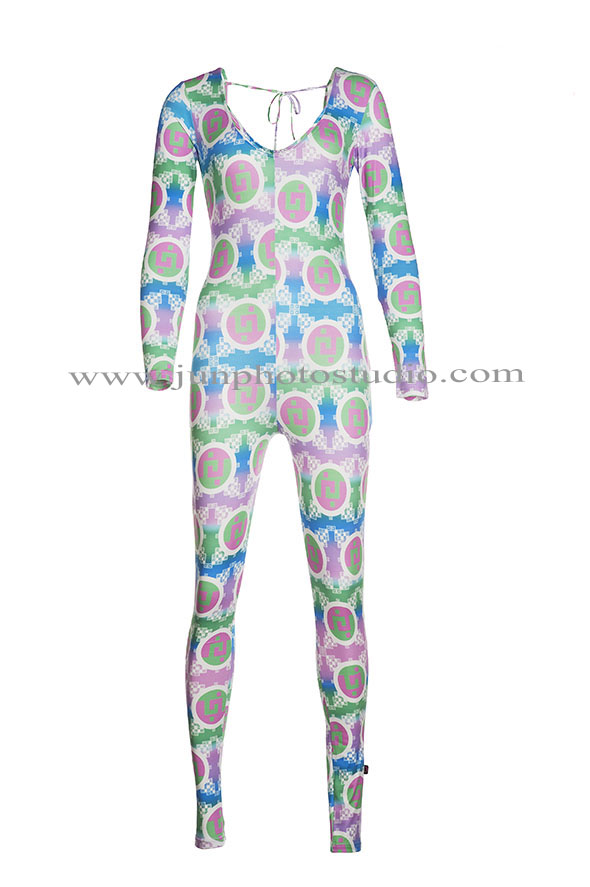 jumpsuit for lady Toronto 3D ghost mannequin photography effect