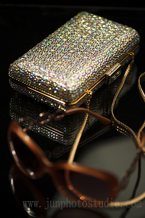 product photographer shenzhen evening bag and sunglass