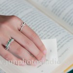 China jewellery photography reading with beautiful rings