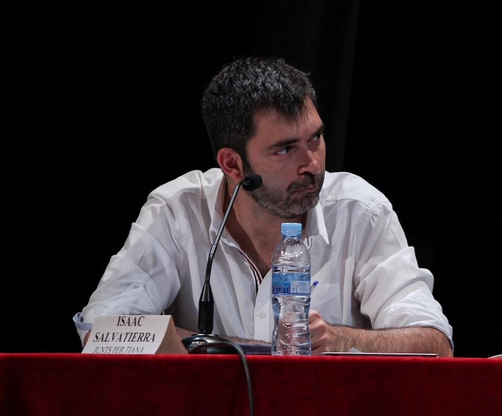 Isaac Salvatierra al debat