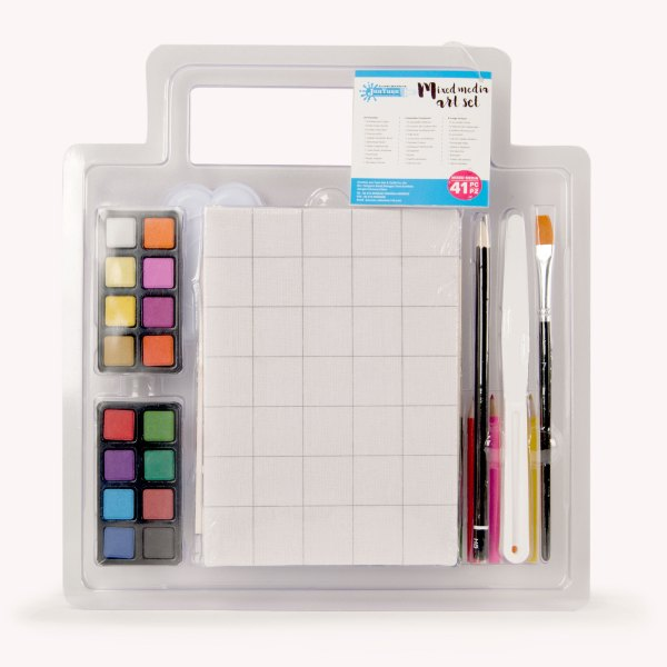 41pc Clamshell Mixed Media Art Set