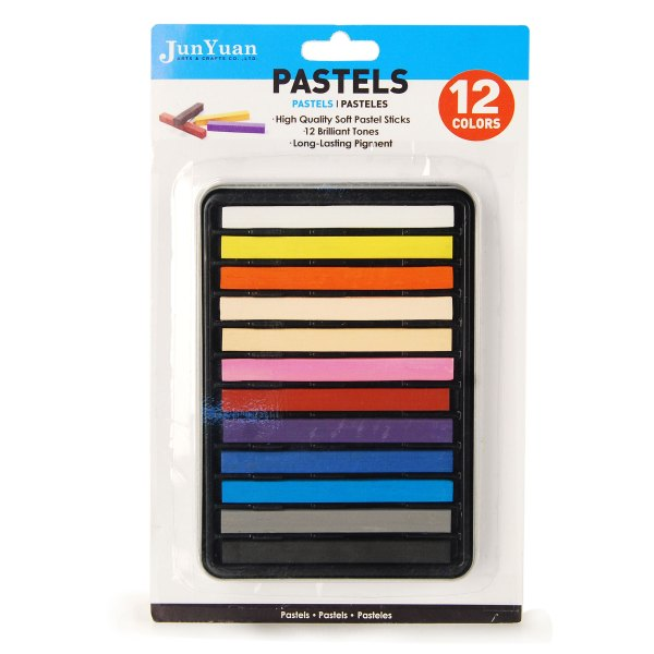 12pc Metal Case Soft Pastel Set