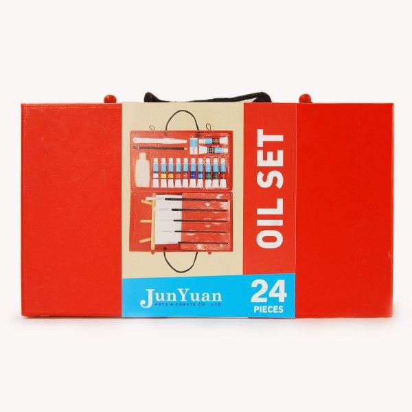 24pc Red Paper Box Art Set