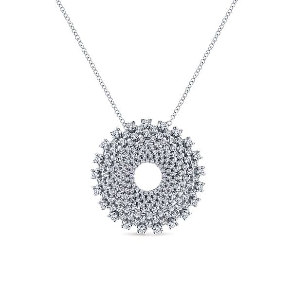 14kt 2.02ctw Multi Diamond Necklace