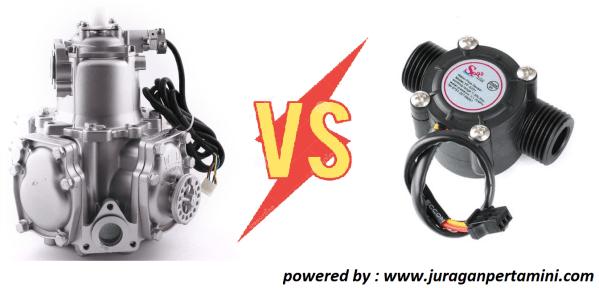 Perbedaan Pom Mini Assy Meter dan Flow Sensor